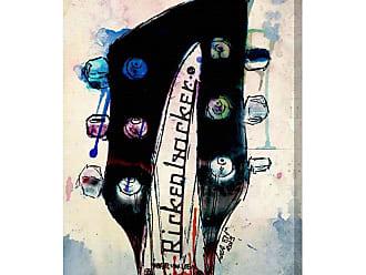 Hatcher & Ethan Rickenbacker Headstock Canvas Wall Art - HE10711_40X60_CANV_XXHD_HE