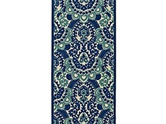 Kaleen FSR107-22-26710 A Breath of Fresh Air Machine Made Polypropelyne Rug, 2 6 x 7 10, Navy
