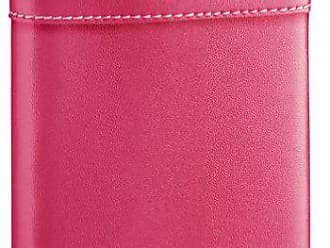 Visol Products VisolAlexis Leather Stainless Steel Hip Flask, 6-Ounce, Hot Pink