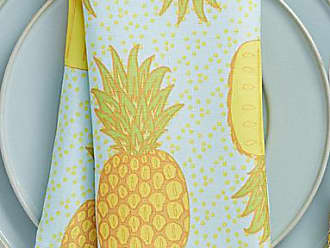 Danica Studio Festive pineapples napkin