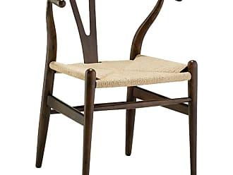 Rivatti Cadeira Wishbone Madeira Escura