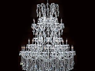 Worldwide Lighting W83068C54 Maria Theresa 61 Light 5 Tier 54 Chrome