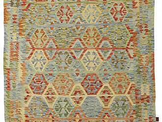 Nain Trading Hand Woven Kilim Afghan 80x511 Dark Grey/Beige (Wool, Afghanistan)