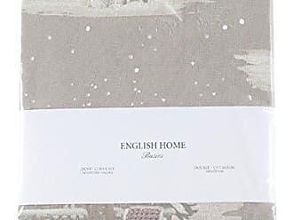 english home happy winter bed clothes set 200x220 cm beige baumwolle 200 x 220 cm