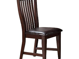 Winners Only Upholstered Slat Back Dining Side Chair - Set of 2 - WIN813-1