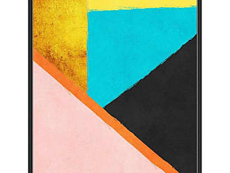Ptm Images Orange Stripe Wall Art - 9-88068