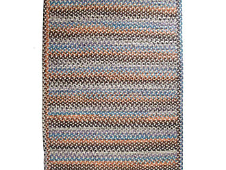 Rhody Rug Blue Ridge Rectangle Wool Braided Rug, 4 x 6
