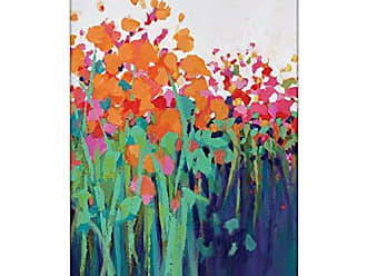Artist Lane 15CF - P2639 Bright and Beautiful Canvas Artwork by Catherine Fitzgerald, 40 by 60 by 1.5-Inch