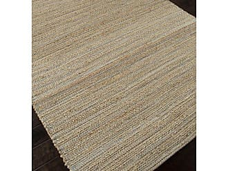Jaipur Living Rugs Jaipur Himalaya Canterbury Natural Solid Pattern Jute/Cotton Rug Driftwood Natural, Size: 8 x 10 ft. - RUG101990