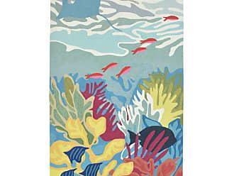 Liora Manne Ravella Ocean View Indoor/Outdoor Area Rug, Size: 5 x 2 ft. - RVLR5227503