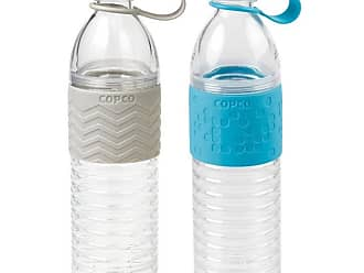 Copco Hydra Reusable Water Bottle with Tethered Leak-proof Cap 20 oz