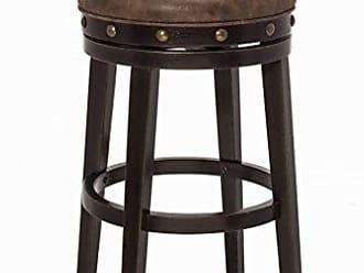 Hillsdale Furniture 5990-830 Benard Backless Bar Stool Height, Brown