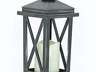 Home&Co Lanterna Vela Artificial Led Luminária Efeito Fogo Home&Co