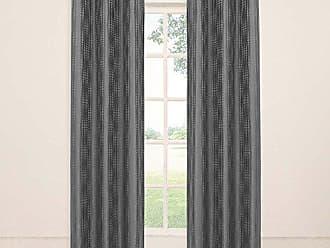 Ellery Homestyles KOZDIKO Eclipse Captree Blackout Grommet Window Panel, 42 by 63-Inch, Smoke