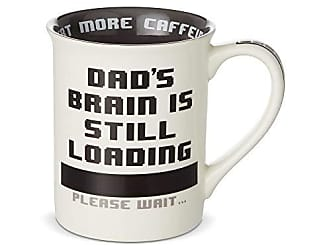 Enesco 6003385 Our Our Name is Mud Dad is Processing Heat Changing Coffee Mug, 16 oz, Multicolor