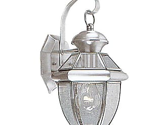 Livex Lighting 2051 Monterey 1 Light Outdoor Wall Sconce White Outdoor