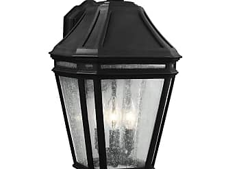 Feiss Londontowne 3 - Light Outdoor Sconce in Black