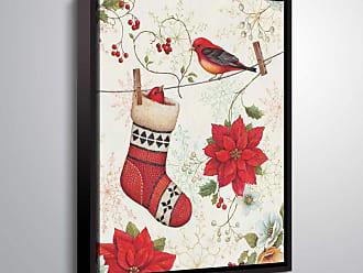 Brushstone Holiday Wings IV Light by Daphne Brissonnet Framed Canvas - 2BRI066A0810F