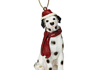 e26b87c9154 Design Toscano Christmas Ornaments - Xmas Dalmatian Holiday Dog Ornaments - Christmas  Decorations