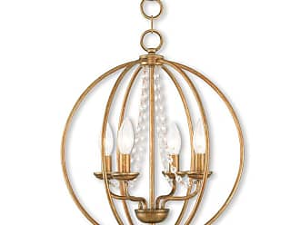 Livex Lighting 40914 Arabella 4 Light 15 Wide Pillar Candle Pendant