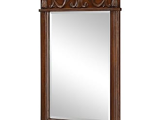 Elegant Furniture & Lighting Danville Beveled Wall Mirror - 25W x 36H in. - VM-1007