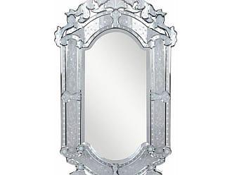 Elegant Furniture & Lighting Venetian Wall Mirror - 27.6W x 47.6H in. - MR-2003C