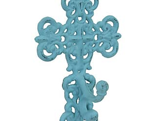 Stonebriar Collection Cast Iron Cross Wall Hook - SB-6006A