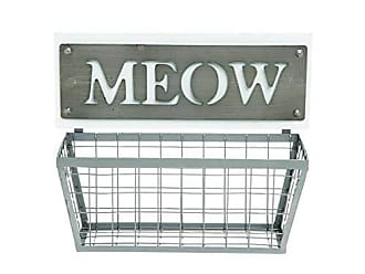 Foreside Home And Garden Meow Wall Basket