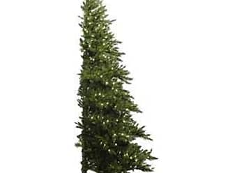 Vickerman Pre-Lit Westbrook Pine Half Tree with 500 Clear Dura-Lit Lights, 7.5-Feet, Green