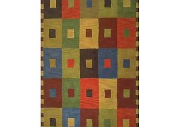Liora Manne Inca Squares Multi Area Rug, Size: 8 x 10 ft. - INC80944044