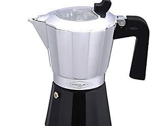 2 Tazas Cafetera Italiana Inducci/ón Arges para Todo tipo de Cocinas Oroley