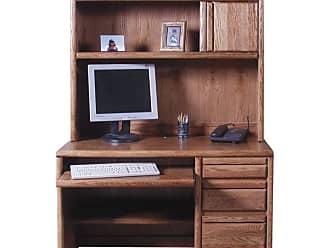 Forest Designs Customizable Contemporary 1026 Computer Desk - 1026-B