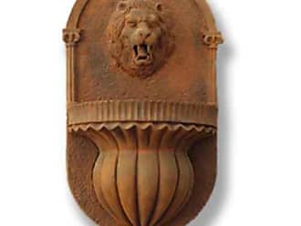 Orlandi Statuary Lion Wall Outdoor Fountain - F60143