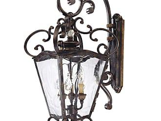 Metropolitan European 3-Lt Outdoor Lantern in Terraza Villa