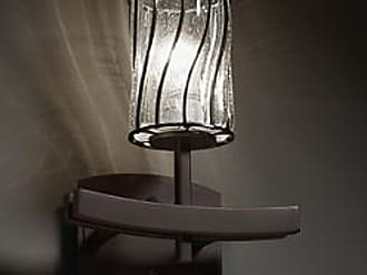 Justice Design Group Wire Glass Archway Wall Sconce