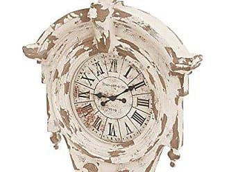 Deco 79 Fiberglass Wall Clock, 36 by 44-Inch