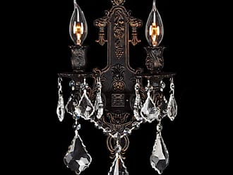 Worldwide Lighting W23315F12 Versailles 2 Light 12 Wall Sconce in