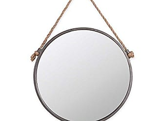 Foreside Home And Garden Rope & Circle Mirror Medium