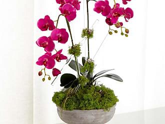 John-Richard Crystal Orchids Faux Floral Arrangement
