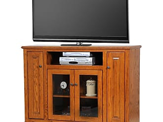 American Heartland 56.5 in. Tall Deluxe Oak Entertainment Console - Assorted Finishes - 63156LT
