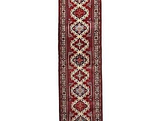 Solo Rugs Shirvan Hand Knotted Runner Rug 2 8 x 9 10 Red