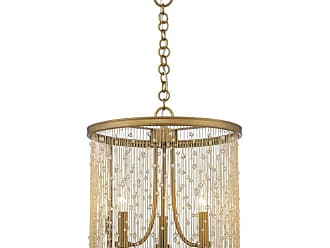 Golden Lighting 1771-3P CRY Marilyn 3 Light 15 Wide Taper Candle Mini