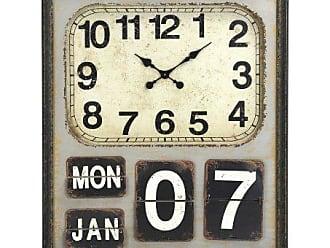 Zentique Zentique Wooden Flip Clock