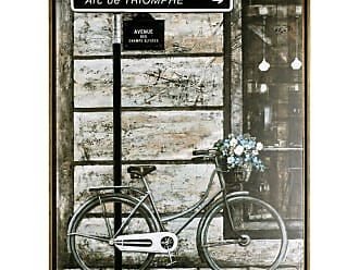 Art Maison Canada The Bicycle IV Framed Acrylic Framed Art - HAYN3150