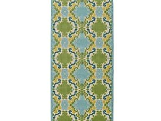 Kaleen FSR101-17-26710 A Breath of Fresh Air Machine Made Polypropelyne Rug, 2 6 x 7 10, Blue