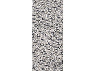 Surya Georgetown GEO-8002 Shag Hand Woven 100% New Zealand Wool Dove Gray 26 x 8 Runner