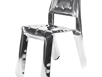 Zieta Limited Edition Chippensteel 0.5 Chair In Polished Stainless Steel By Zieta