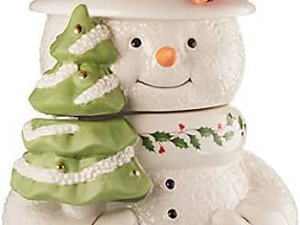 Lenox 879208 Happy Hollydays Cookie Jar, Multicolor