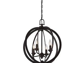 Lite Source Inc. C71357 Oria 4 Light 18 Wide Pendant Dark Bronze Indoor