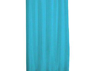 Douceur dInt/érieur Rideau DE Douche Textile 180x200CM avec Motifs 180 x 200 cm Etain Noir